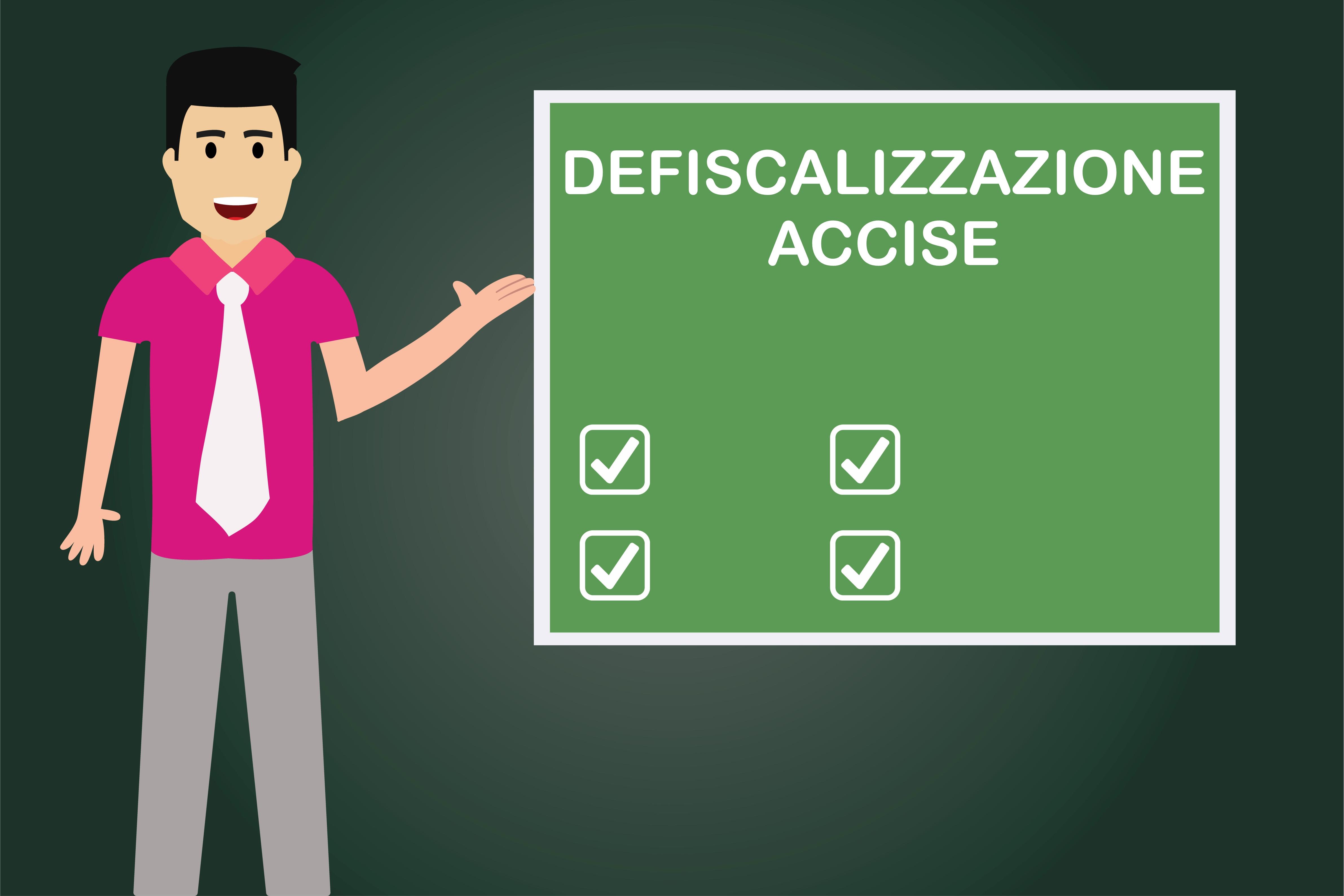 Defiscalizzazione Accise: rimborso parziale per il consumo di gasolio